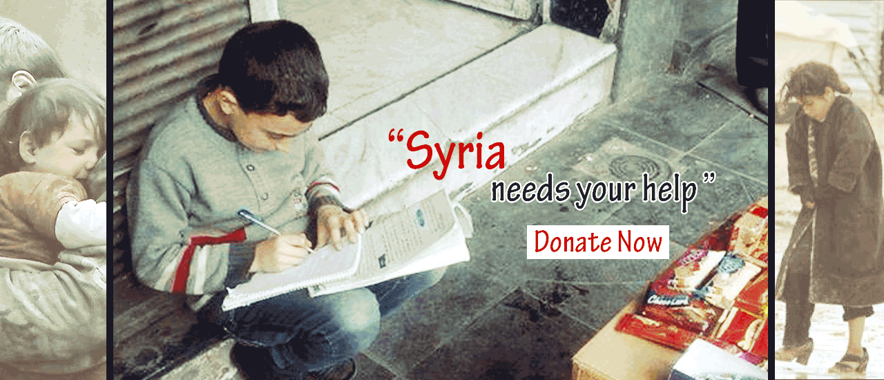 Donate for Syria